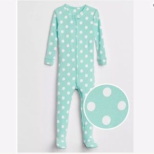 Baby Gap Girls 5T One-Piece Footed Pajamas